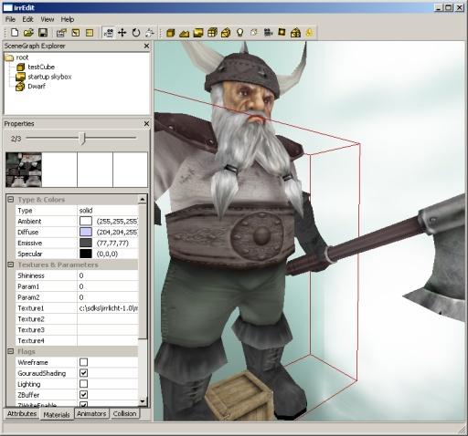 Editor progress week 7 - mixing GDI, OpenGL and D3D